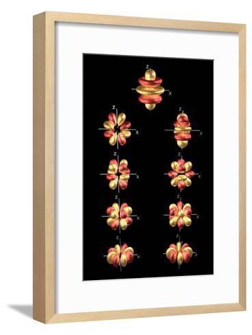 5g Electron Orbitals-Dr. Mark J.-Framed Art Print