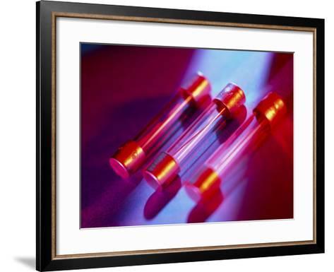 Electrical Fuses-Tek Image-Framed Art Print