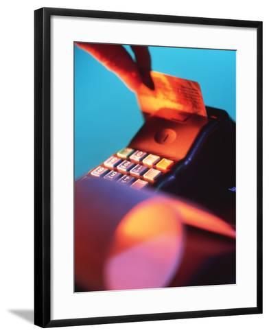 Credit Card-Tek Image-Framed Art Print