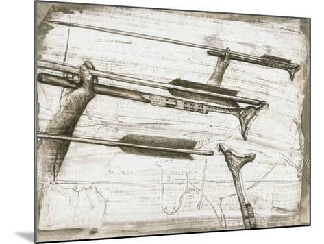 Prehistoric Spear-thrower-Kennis and Kennis-Mounted Photographic Print
