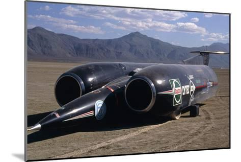 Thrust SSC, the World's First Supersonic Car-Keith Kent-Mounted Photographic Print