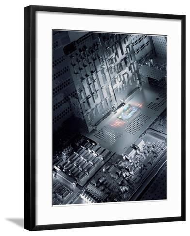 Future Electronics-Richard Kail-Framed Art Print