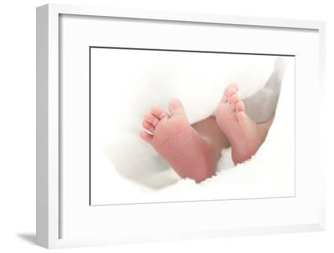 Baby's Feet-Ruth Jenkinson-Framed Art Print