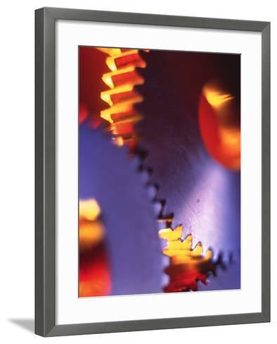 Cogs for Use In a Gearing System-Tek Image-Framed Art Print