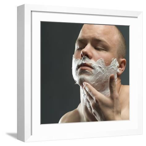 Shaving Foam-Coneyl Jay-Framed Art Print