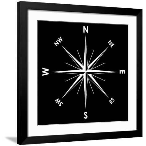 Compass Rose, Artwork-Mikkel Juul-Framed Art Print