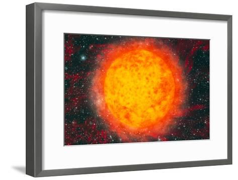 Computer Artwork of the Sun-Mehau Kulyk-Framed Art Print