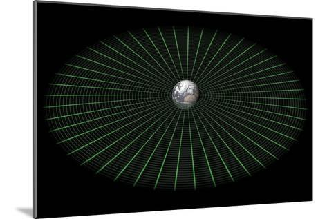 Earth's Gravity Well, Artwork-Mikkel Juul-Mounted Photographic Print