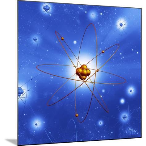 Atomic Structure, Artwork-Mehau Kulyk-Mounted Photographic Print