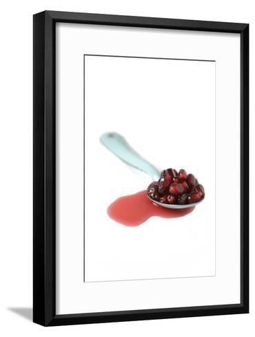 Pomegranate Seeds-Veronique Leplat-Framed Art Print
