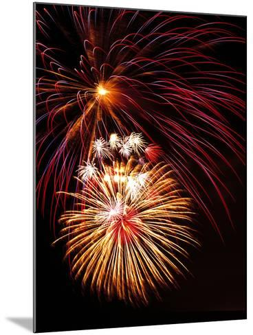 Fireworks Display-Brad Lewis-Mounted Photographic Print