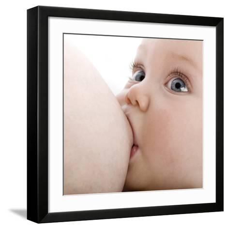 Breastfeeding-Science Photo Library-Framed Art Print