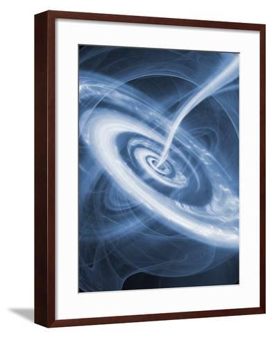 Black Hole-Mehau Kulyk-Framed Art Print