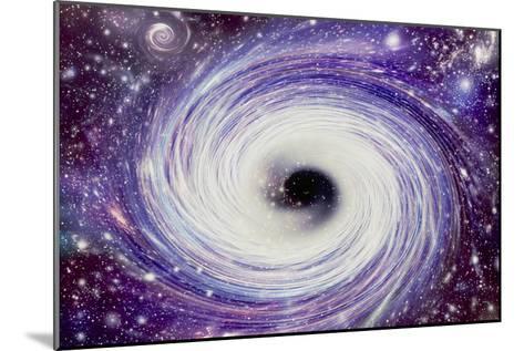 Artwork of a Black Hole-Mehau Kulyk-Mounted Photographic Print