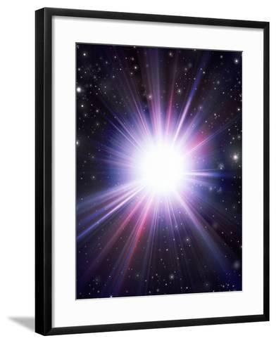 Supernova-Mehau Kulyk-Framed Art Print
