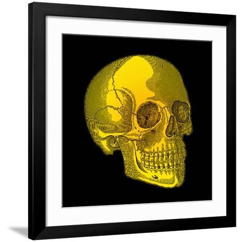 Human Skull-Mehau Kulyk-Framed Art Print