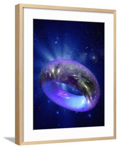 Torus Universe, Artwork-Mehau Kulyk-Framed Art Print