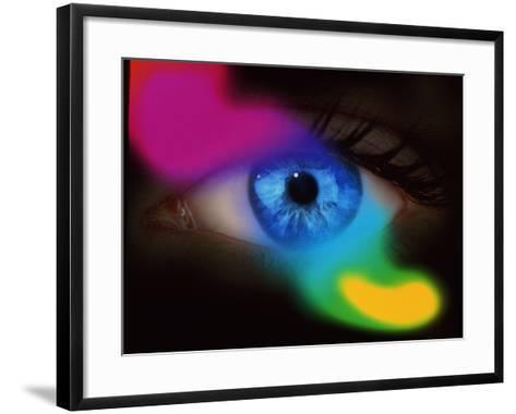 Human Eye-Mehau Kulyk-Framed Art Print