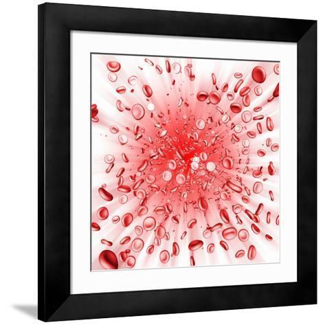 Red Blood Cells-Mehau Kulyk-Framed Art Print