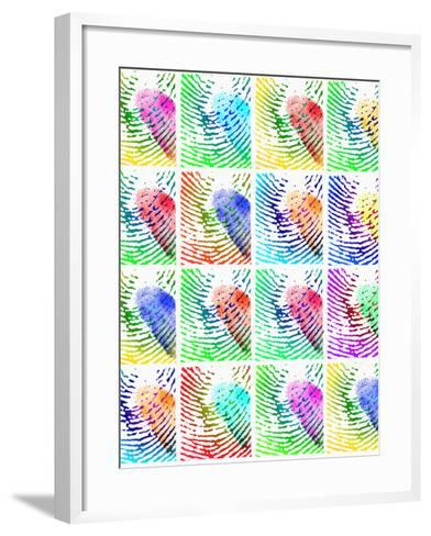 Fingerprints-Mehau Kulyk-Framed Art Print