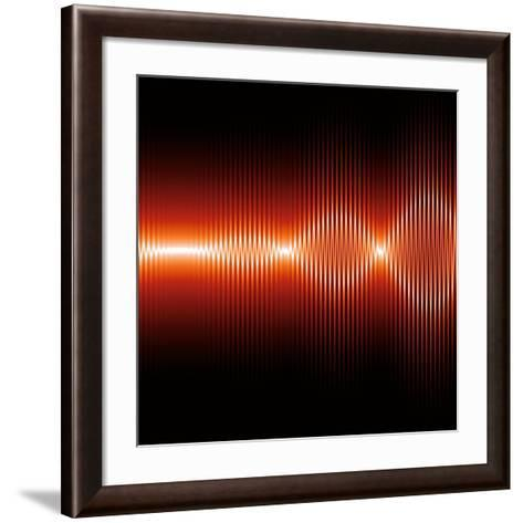 Sound Waves, Artwork-Mehau Kulyk-Framed Art Print