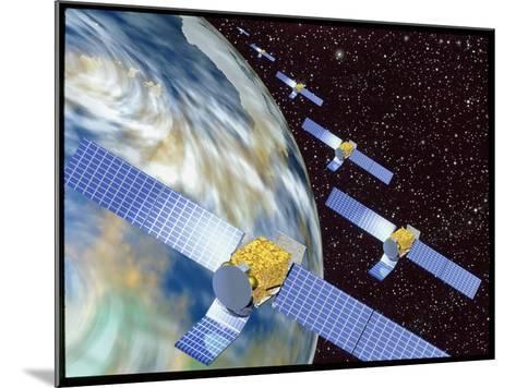 Communication Satellites-Mehau Kulyk-Mounted Photographic Print