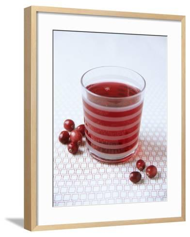 Cranberry Juice-Veronique Leplat-Framed Art Print