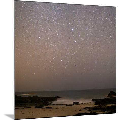 Sirius In Canis Major Over a Beach-Laurent Laveder-Mounted Photographic Print
