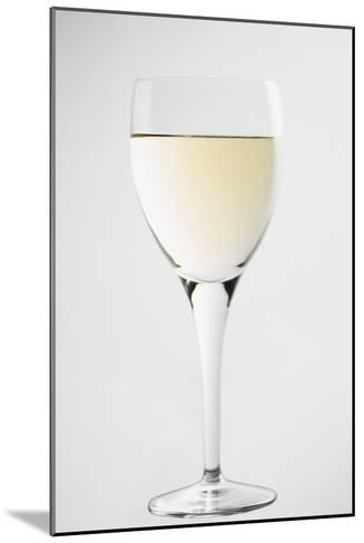 Glass of White Wine-Lawrence Lawry-Mounted Photographic Print