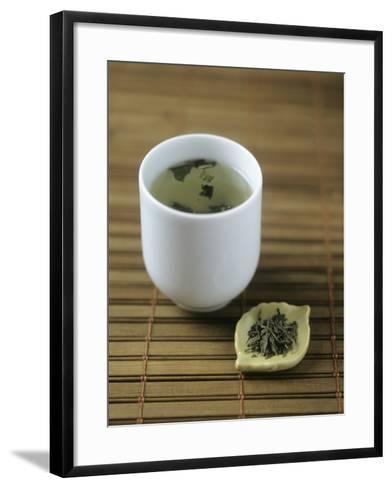 Japanese Sencha Green Tea-Veronique Leplat-Framed Art Print