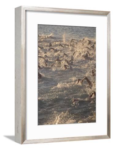 Ironman Triathlon-Brad Lewis-Framed Art Print