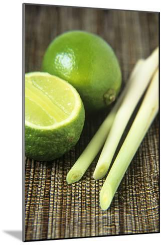 Limes And Lemongrass-Veronique Leplat-Mounted Photographic Print