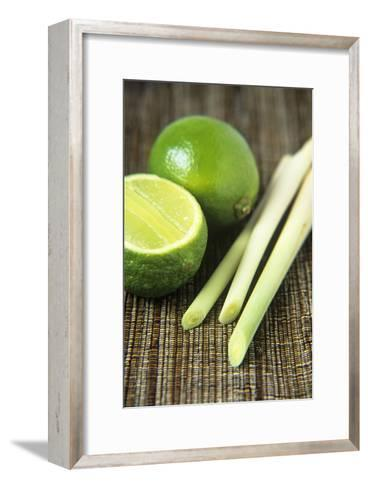 Limes And Lemongrass-Veronique Leplat-Framed Art Print
