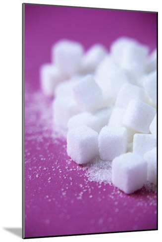 White Sugar Cubes-Veronique Leplat-Mounted Photographic Print