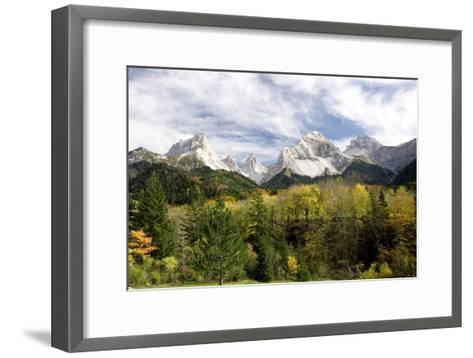 Vercors Mountains, France-Bob Gibbons-Framed Art Print