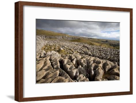 Limestone Pavement, Yorkshire-Bob Gibbons-Framed Art Print