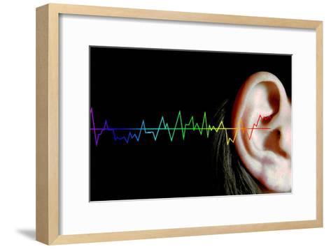 Hearing-Neal Grundy-Framed Art Print