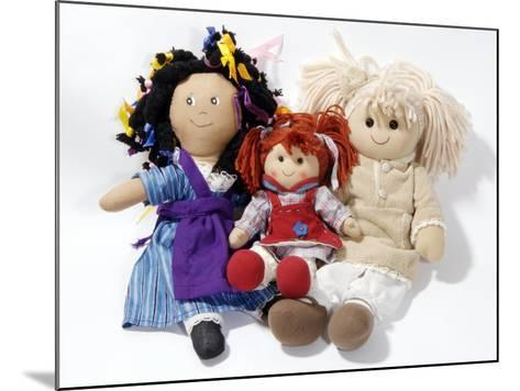 Soft Dolls-Johnny Greig-Mounted Photographic Print