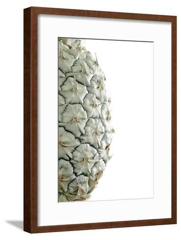 White Pineapple-Neal Grundy-Framed Art Print