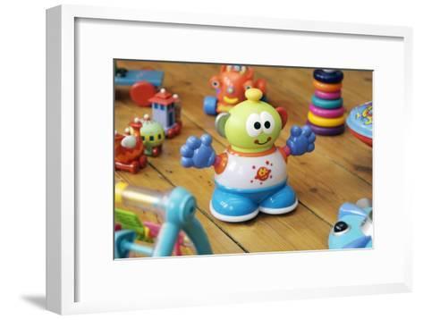 Toys-Johnny Greig-Framed Art Print