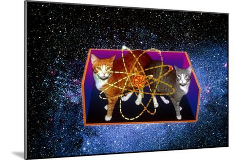 Art of Schrodinger's Cat Experiment-Volker Steger-Mounted Photographic Print