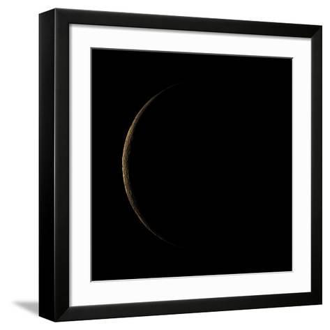 Waning Crescent Moon-Eckhard Slawik-Framed Art Print