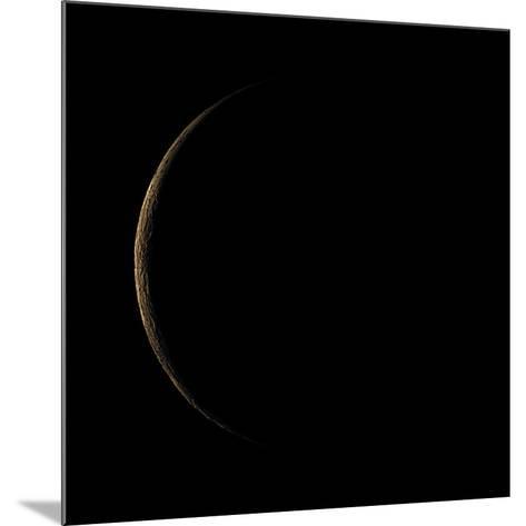 Waning Crescent Moon-Eckhard Slawik-Mounted Photographic Print