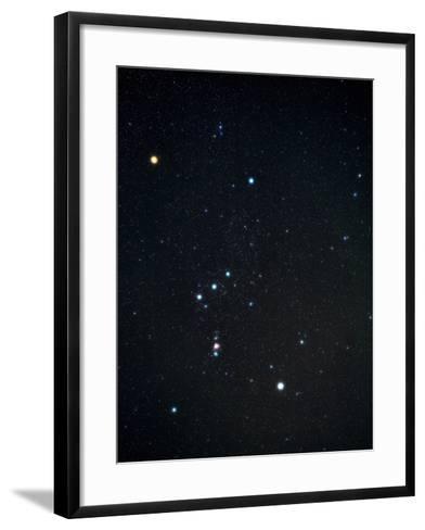 Orion Constellation-Eckhard Slawik-Framed Art Print