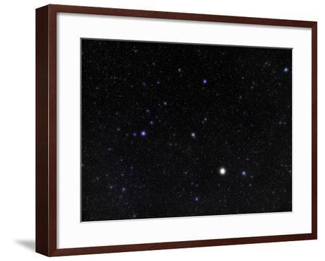 Bootes Constellation-Eckhard Slawik-Framed Art Print