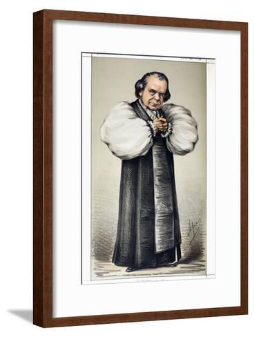 """1869 \Soapy Sam\"""" Wilberforce Vanity Fair""""-Paul Stewart-Framed Art Print"""
