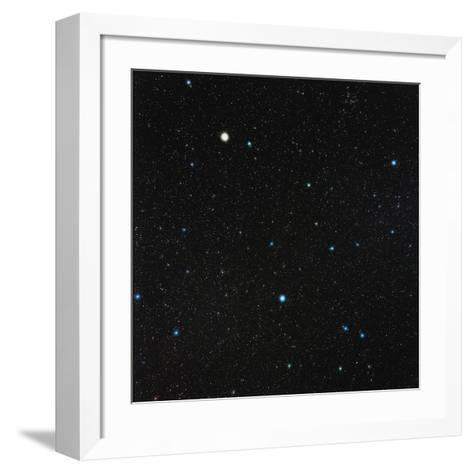 Virgo Constellation-Eckhard Slawik-Framed Art Print