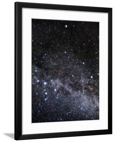 Cassiopeia And Cepheus Constellations-Eckhard Slawik-Framed Art Print