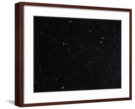 Capricornus Constellation-Eckhard Slawik-Framed Art Print