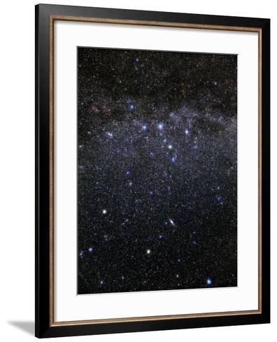 Cassiopeia And Andromeda Constellations-Eckhard Slawik-Framed Art Print